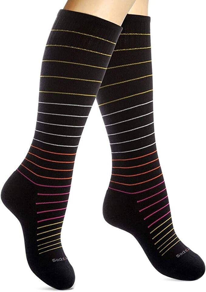 SocksLane Cotton Compression Socks for Women & Men. 15-20 mm