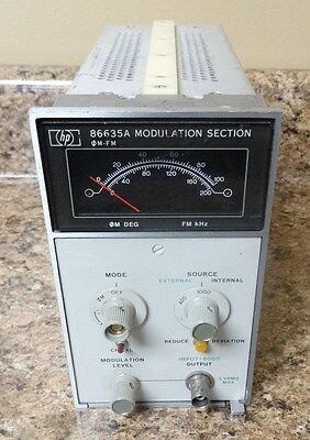 Hp Agilent Keysight 86635a Modulation Section