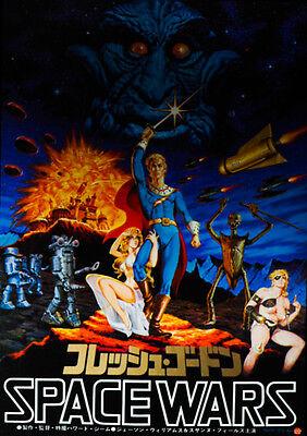 Flesh Gordon 1974 AKA Space Wars Adult Japanese Chirashi Mini Movie Poster B5
