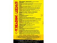 2x Reading Festival Early Bird Entry Ticket