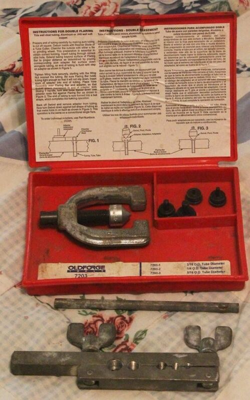 Old Forge Tools 7203 Double Flarinjg Tool, used