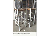 Farrow and ball painted stools