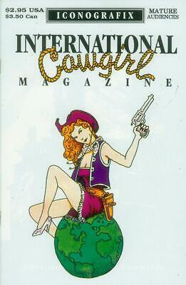 l Magazine # 1 (of 2) (Iconografix USA, 1992) (Cowgirl Wonder Woman)