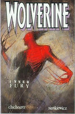 Wolverine: Inner Fury (Bill Sienkiewicz) (USA, 1992)