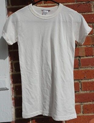 Women's Off-White T-Shirt size S by Junk Food Clothing Brand NWD