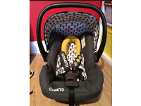 Cosatto moon wood car seat