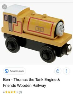 "ISO ""BEN"" Wooden Thomas Train"