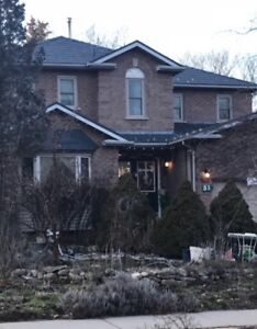 Large, Executive Family Home in Upscale Dundas