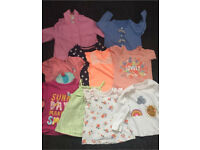 LARGE BABY GIRL BUNDLE VARIOUS SIZES