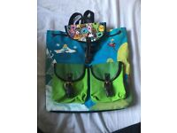 Adventure Time Handpainted Bag