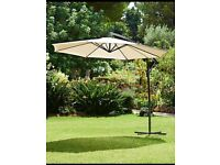 Cantilever Parasol - Ivory NEW