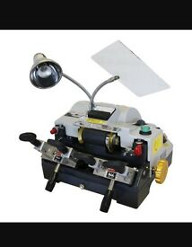 Sks cyclone dual key cutting machine locksmith