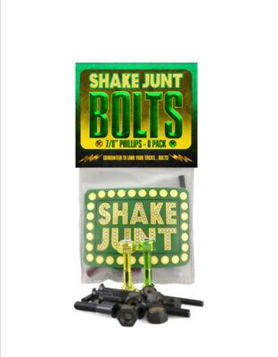 """SHAKE JUNT BAG O BOLTS 7/8"""" PHILLIPS 8 PACK 2 COLOUR SKATE SKATEBOARD NEW"""