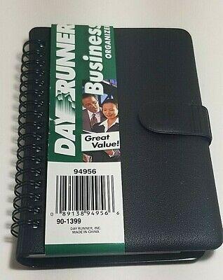 Dayrunner Business Organizer 94956 New 3 34 X 6 38 Non-dated Planner Black