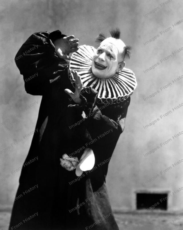 8x10 Print Lon Chaney Laugh Clown Laugh 1928 #LC98