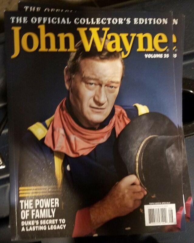 JOHN WAYNE VOLUME 35 BRAND NEW OFFICIAL COLLECTOR'S EDITION MAGAZINE 2020