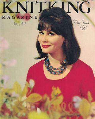KnitKing Knit King Magazine May June 1965 Vintage Fashion Knit Machine Patterns