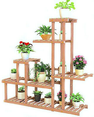 Portavaso in Legno fioriera piante 106 25 97cm giardino fiori vasi multi ripiani