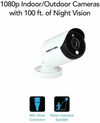 Night Owl CM-C20XL-BU-JF Add-on 1080p HD Security Camera with Spotlight ™