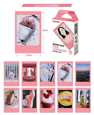 Pink FRAME Fujifilm Instax Mini Film Fuji Instant Photos For Mini 7s 8 50s SP-1