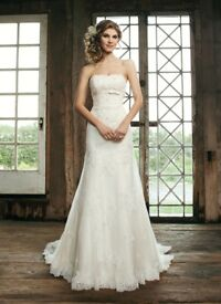 Sincerity Wedding Dress 3664 size 8/10