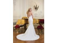 Justin Alexander wedding dress size 10 8731