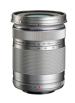 Olympus M.Zuiko Digital 40-150mm f/4.0-5.6 R ED Lens - Silver