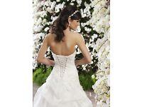 Wedding Dress, Veil & Tiara to rent