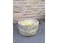 Reconstituted Stone Garden Pot