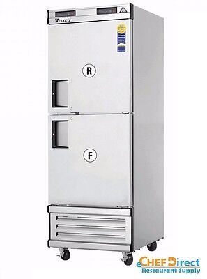 Everest Ebwrfh2 Upright Reach-in Dual Temp Refrigeratorfreezer Combo