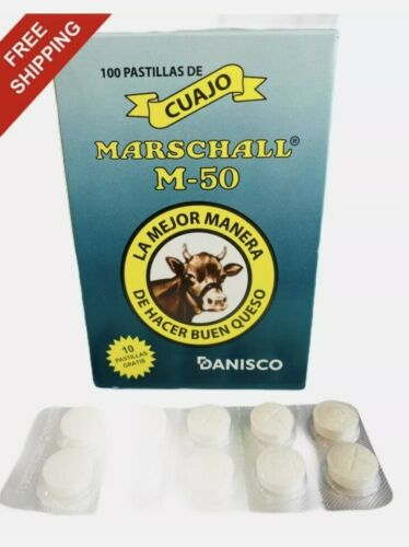 Cuajo Coagulante queso 10 pastillas original de calidad para hacer queso,