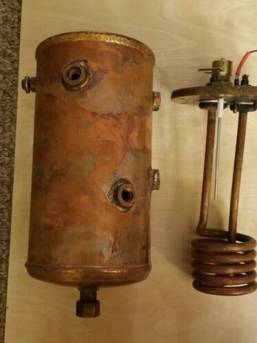 La Spaziale Dream Steam Boiler work in Vivaldi