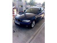 BMW m sport 1 series 2.0 little petrol 06 plate
