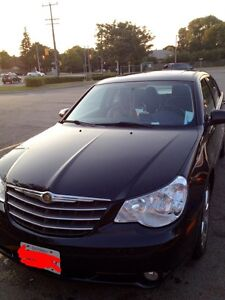 2010 Chrysler Sebring limited, black for sale !
