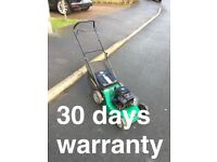 Fully serviced petrol lawn mower