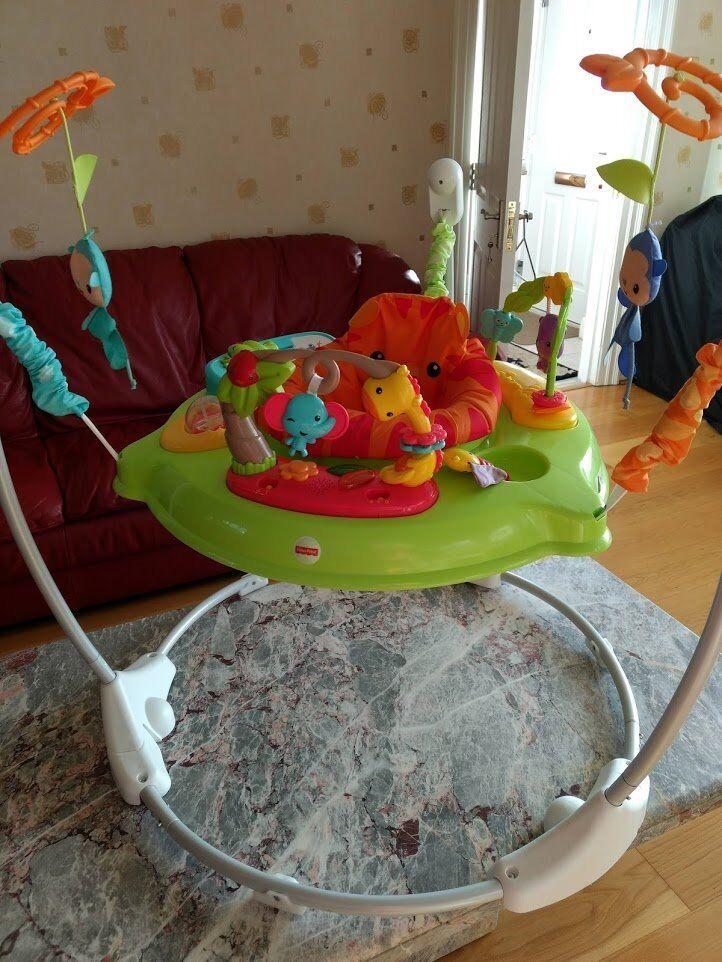 61d5daac2 For sale - fisherprice roaring jumperoo   Chicco baby walker