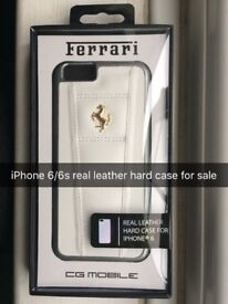 iPhone 6/6s real leather ( hard case ) for sale £20