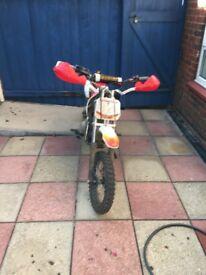 Welsh pit bike 110