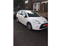 FOR SALE - 5 Door White Citroen C3 2012 (62 plate) SUPER LOW MILEAGE!!