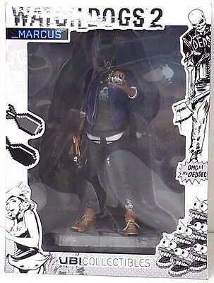 Ubisoft Watch Dogs 2 Marcus Holloway Figurine Statue Game Character Collectible