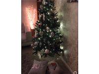 6ft Pre Lit Christmas Tree (warm white)