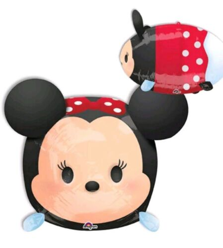 "Disney Tsum Tsum Minnie Mouse Balloon 12x19"" Stackable"