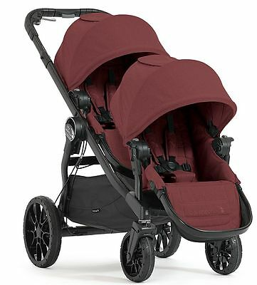 Baby Jogger City Select Lux Twin Tandem Double Stroller with Second Seat Port