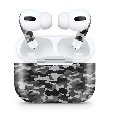 Apple AirPods PRO Skin Sticker Aufkleber Kopfhörer & Case Skins Folie Urban Camo