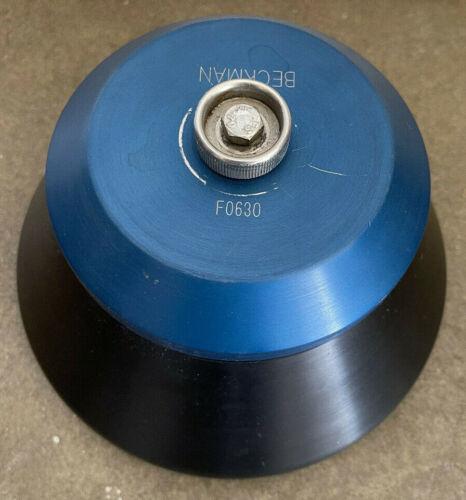Beckman F0630 6x38.5mL 26,200 RPM Fixed-Angle Aluminum Rotor