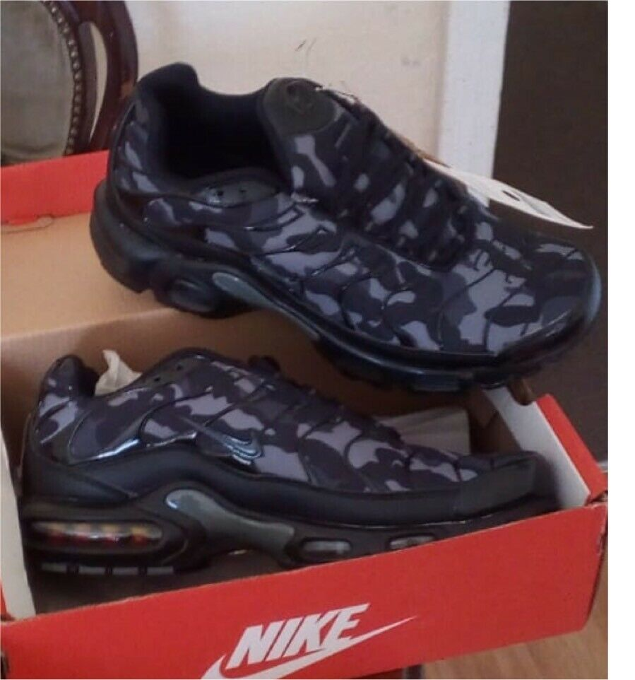 san francisco cb796 46a09 BRAND NEW NIKE AIR TNS PLUS BLACK AND BLUE ANY SIZE NIKE TRAINERS MAN AND  KIDS GOOD D1860 | in Sandwell, West Midlands | Gumtree