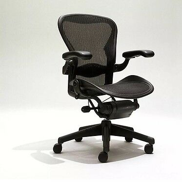 Herman Miller Size B Aeron Chairs Fully Loaded Adjustable W Lumbar
