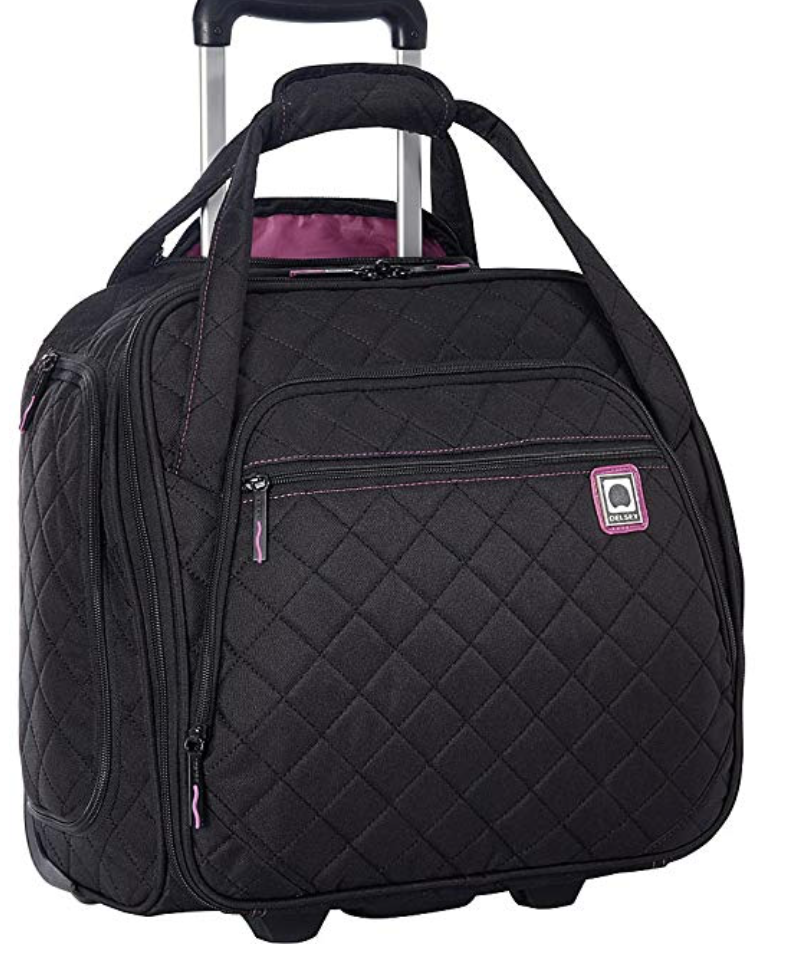 DELSEY Paris Underseater Luggage or Book/Laptop Bag Black- M