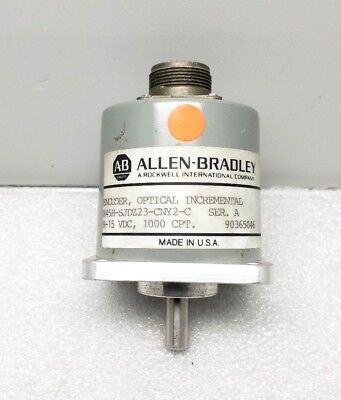 Nice Allen Bradley 845h-sjdz23-cny2-c Optical Incremental Encoder Ser. A