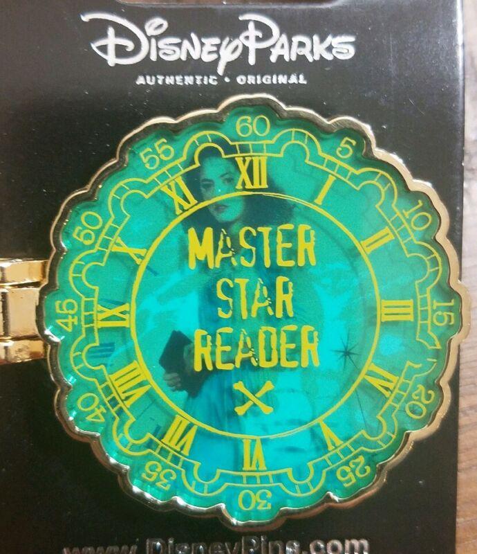 Disney Parks Pirates of the Caribbean Master Star Reader Disney Pin #122234 NEW